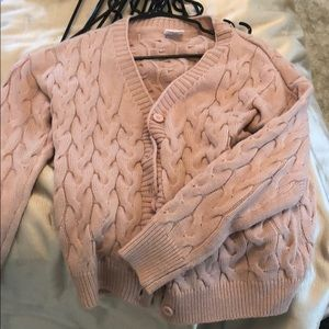 Rose pink cardigan brand new